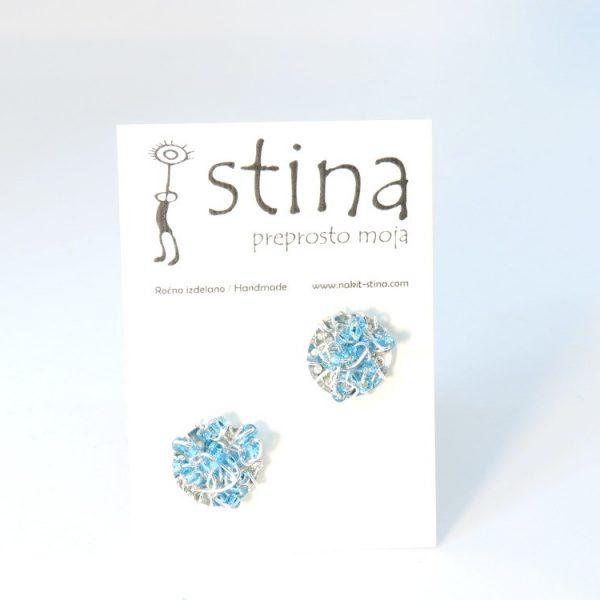 nakit Stina, unikaten, ročno izdelan nakit iz žice