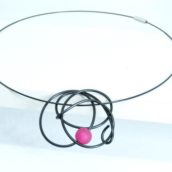 ročno izdelan nakit iz žice Stina